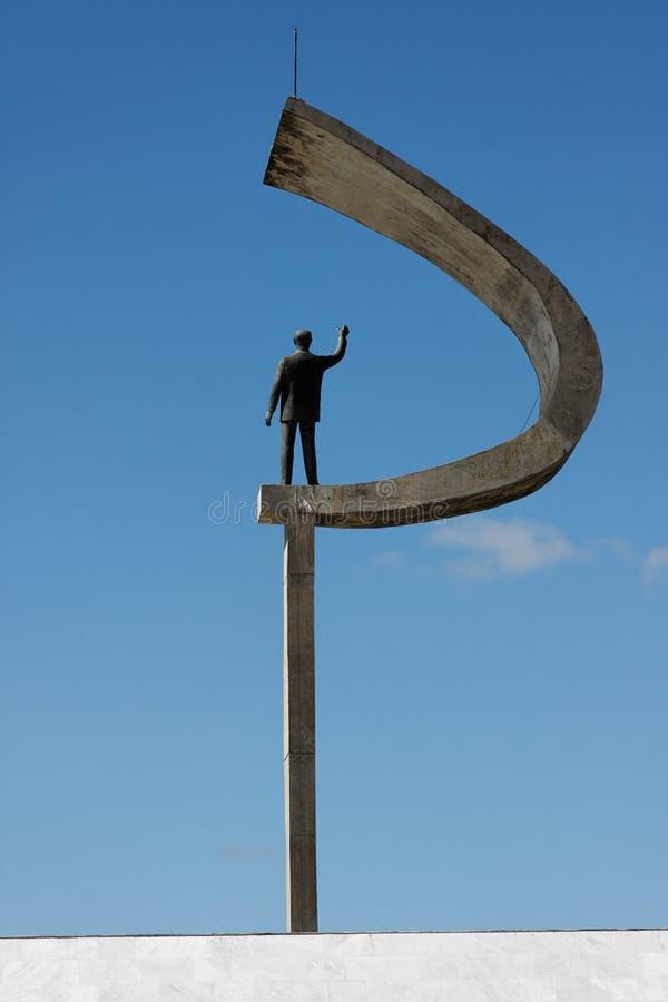 мемориал jk brasilia стоковое фото