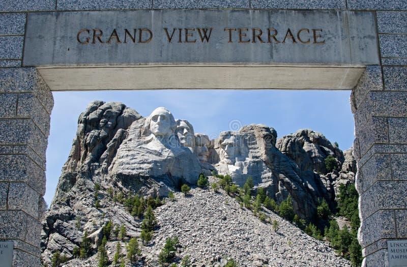 Мемориал Rushmore держателя национальный стоковое фото