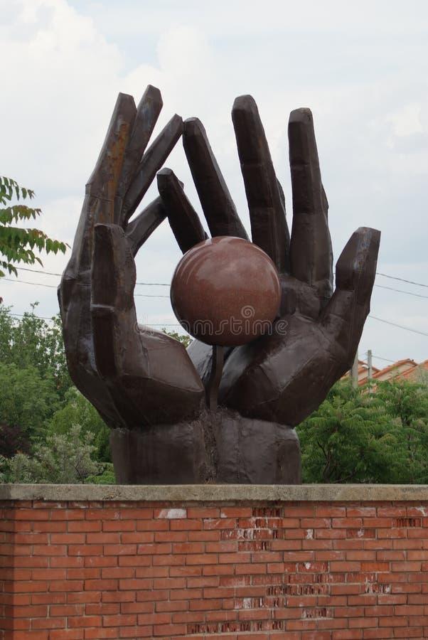 Мемориал движения работников - парк памятного подарка - Будапешт стоковое фото