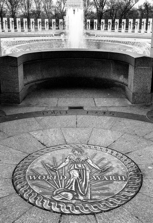 Мемориал Второй Мировой Войны стоковые фотографии rf