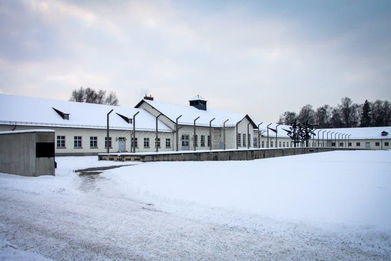 Мемориал концентрационного лагеря Dachau стоковое изображение