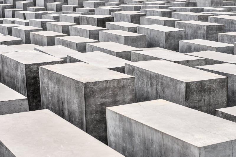 Мемориал к убитым евреям Европы стоковое фото