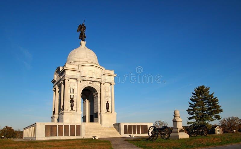 Мемориал Пенсильвании на Gettysburg стоковые фото
