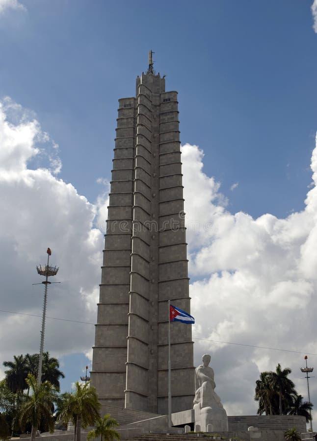 Мемориал Хосе Marti, Гавана, Куба стоковое изображение rf