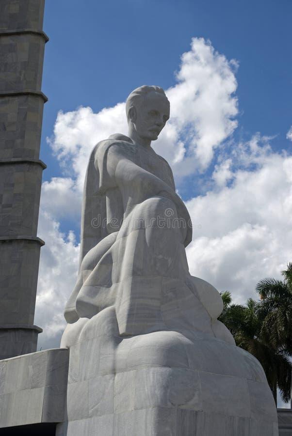 Мемориал Хосе Marti, Гавана, Куба стоковые фотографии rf