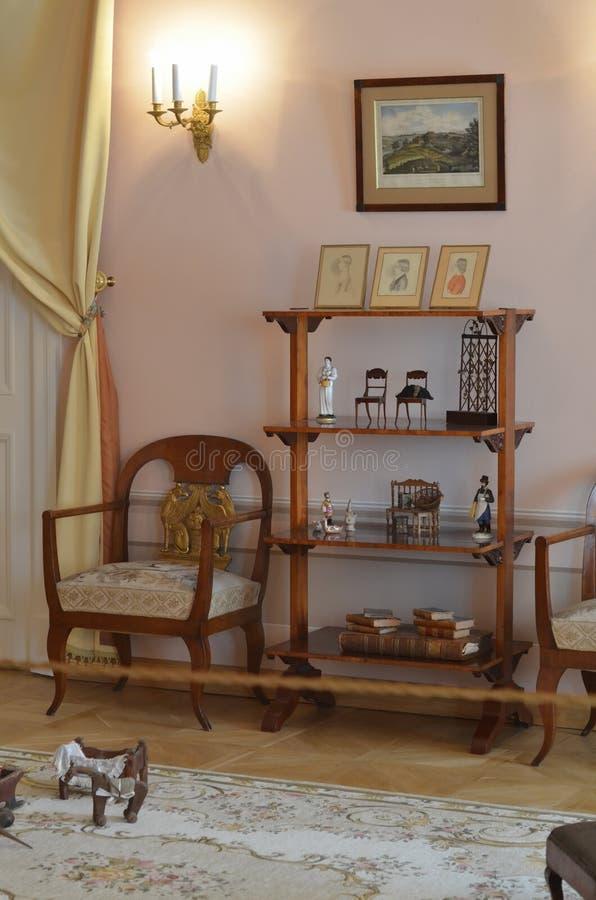 Мемориальная квартира Александра Pushkin стоковая фотография rf