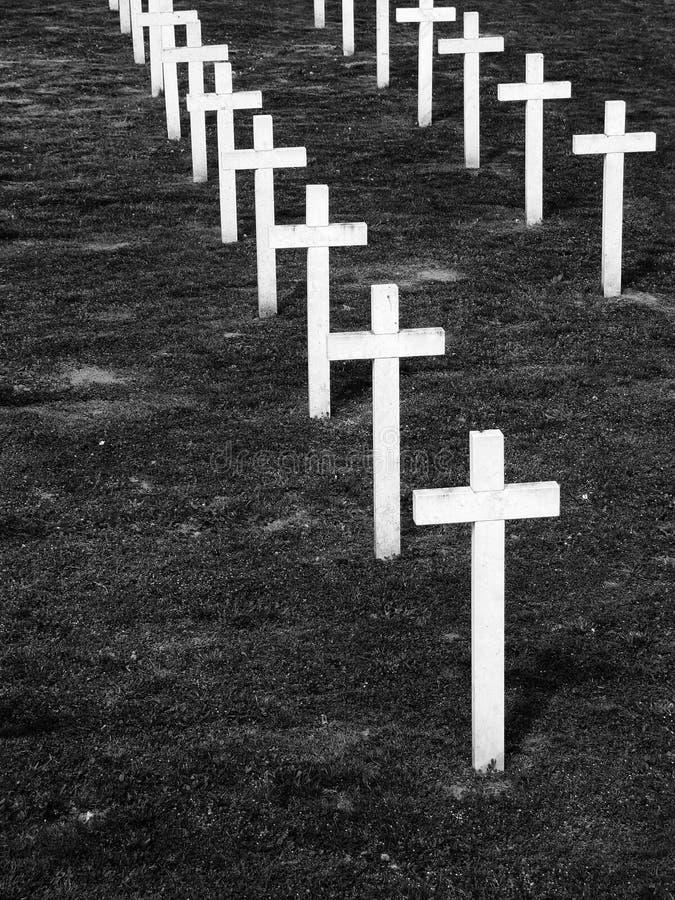 Мемориальное кладбище стоковые изображения