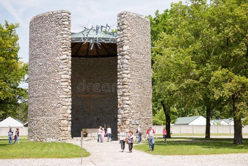 Мемориальное место Dachau стоковые фотографии rf