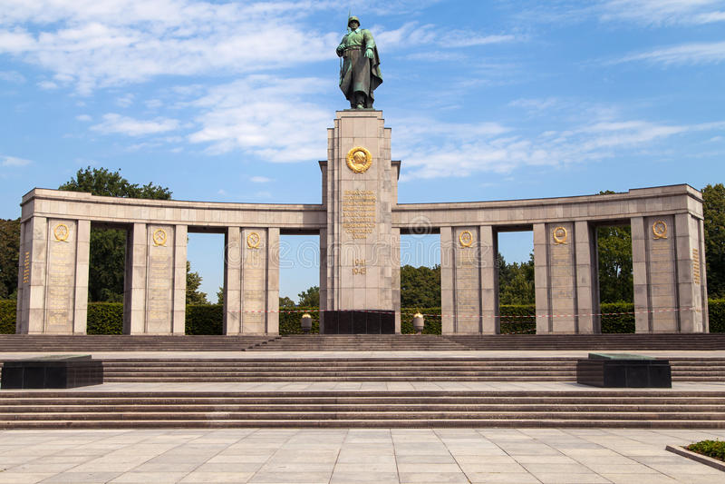 мемориальное советское война стоковые фотографии rf