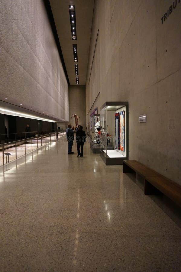 9/11 мемориальных музеев, эпицентр, WTC стоковые изображения rf