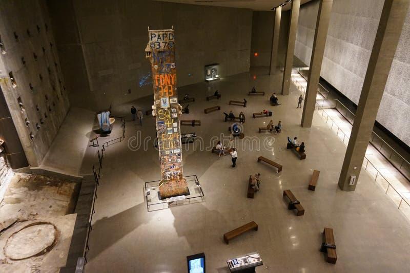 9/11 мемориальных музеев, эпицентр, WTC стоковая фотография