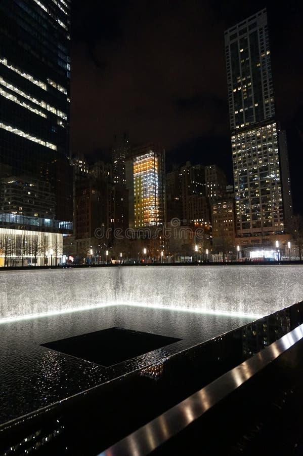 9/11 мемориальных музеев, эпицентр, WTC стоковые фото