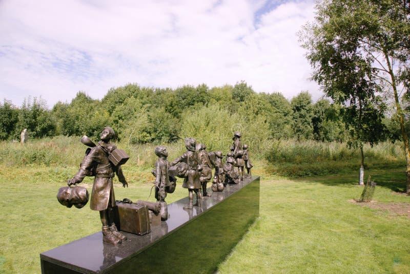 Мемориал эвакуированного стоковая фотография rf