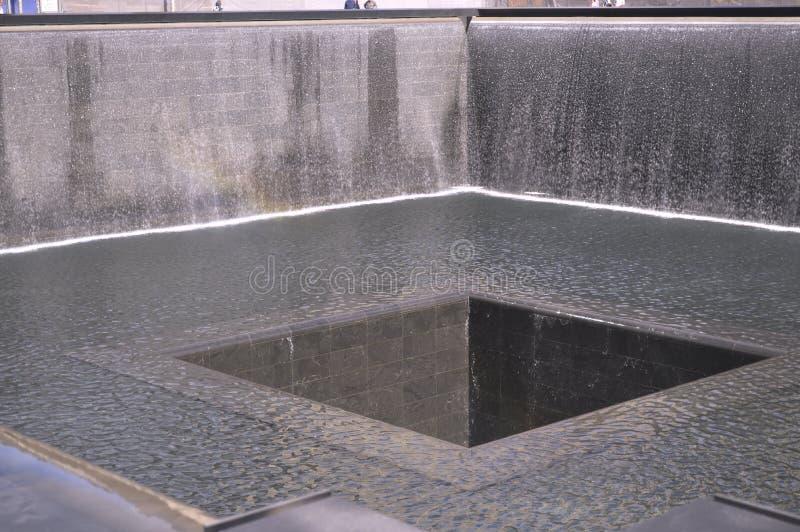 Мемориал 911 стоковая фотография rf