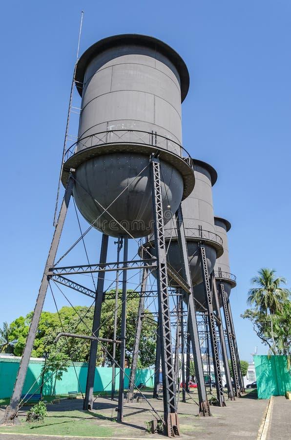 Мемориал agua ` Tres Caixas d исторический в RO Порту Velho стоковые изображения