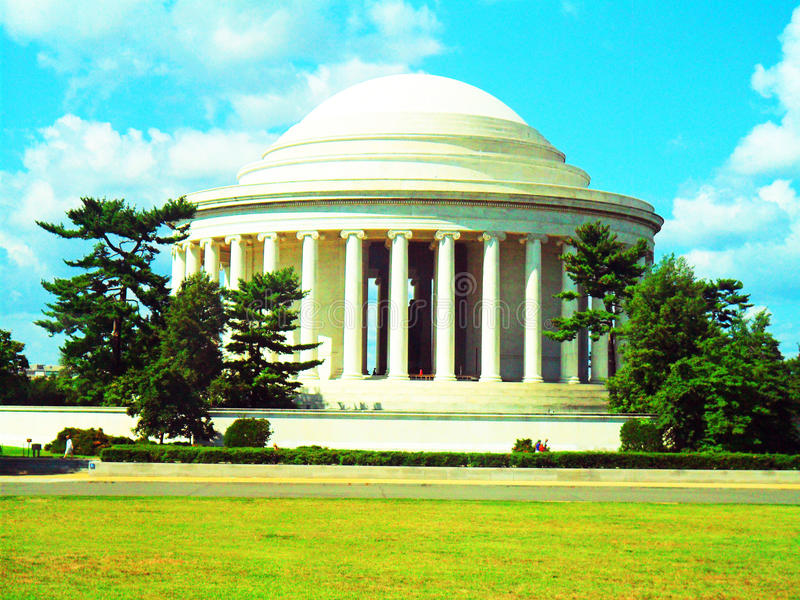 Мемориал Jefferson стоковая фотография rf