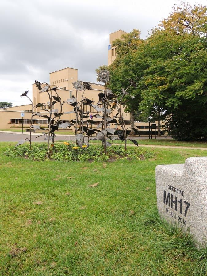 Мемориал MH17, на Хилверсюме, Нидерланды, Европа стоковые изображения