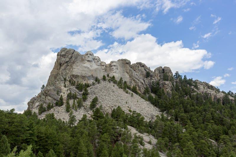 Мемориал Mount Rushmore национальный в Южной Дакоте, США стоковые фотографии rf