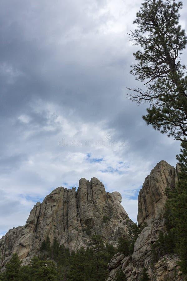 Мемориал Mount Rushmore национальный в Южной Дакоте, США стоковые фото