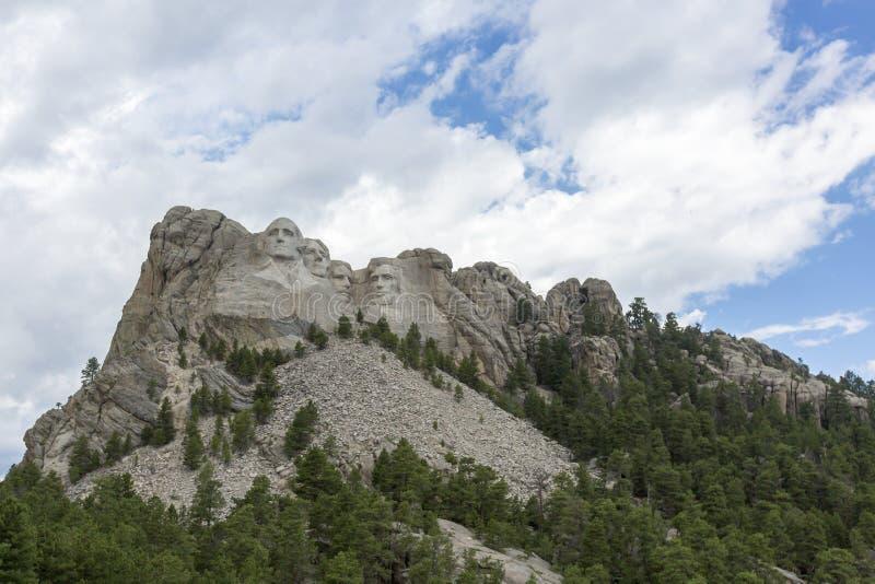 Мемориал Mount Rushmore национальный в Южной Дакоте, США стоковое фото rf