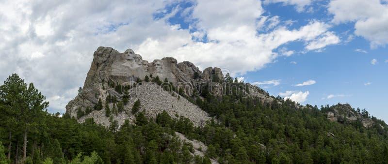 Мемориал Mount Rushmore национальный в Южной Дакоте, США стоковое изображение