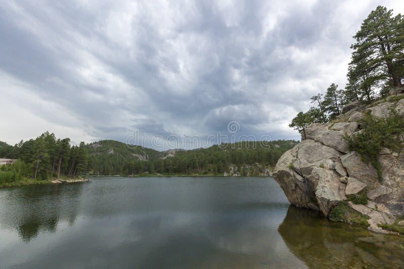 Мемориал Mount Rushmore национальный в Южной Дакоте, США стоковая фотография