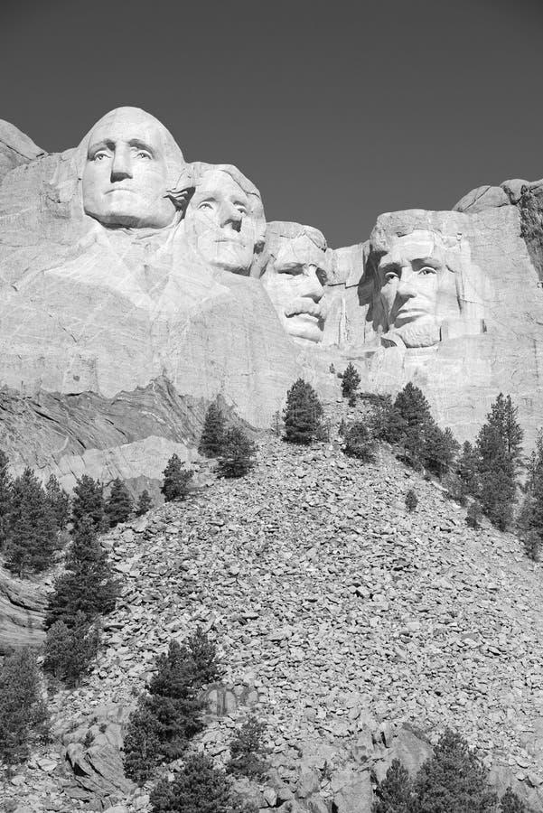 Мемориал Mount Rushmore национальный, Black Hills, Южная Дакота, США стоковое фото