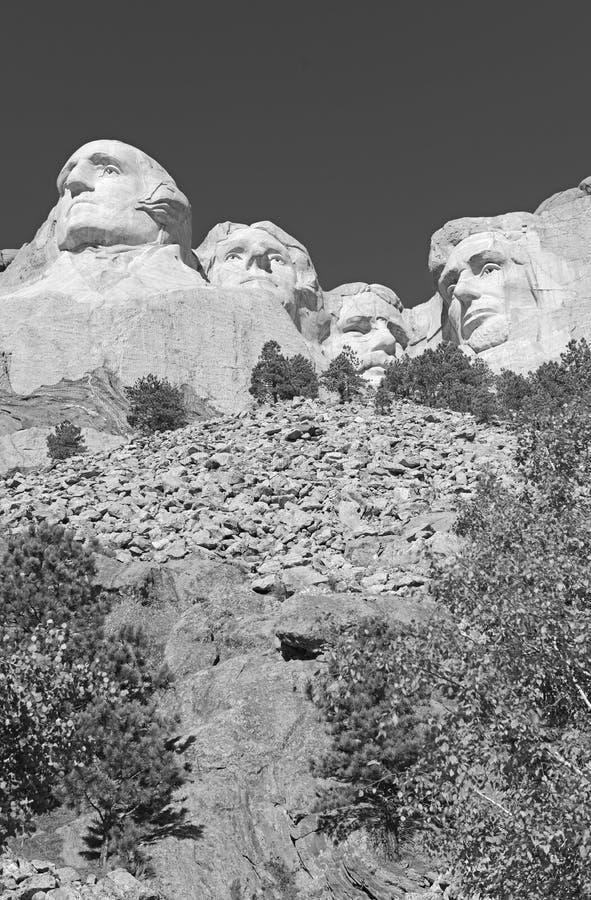 Мемориал Mount Rushmore национальный, Black Hills, Южная Дакота, США стоковое изображение