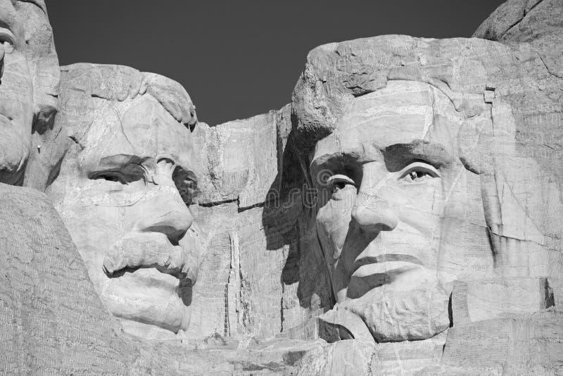 Мемориал Mount Rushmore национальный, Black Hills, Южная Дакота, США стоковое изображение rf
