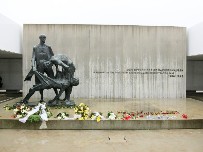Мемориал Sachsenhausen национальный стоковые фотографии rf