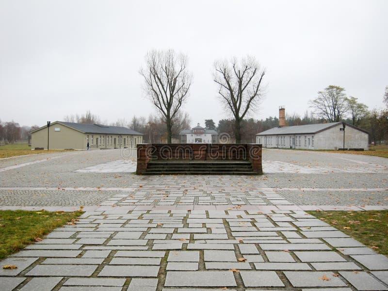 Мемориал Sachsenhausen национальный стоковое фото rf