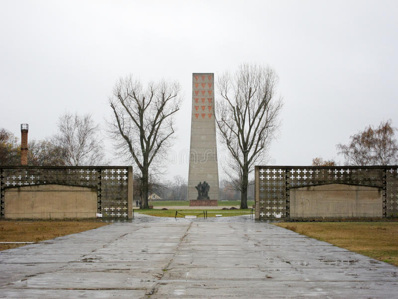 Мемориал Sachsenhausen национальный стоковое фото