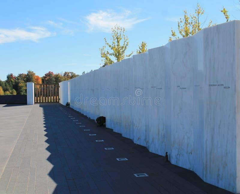 911 мемориал - Shanksville Пенсильвания стоковая фотография rf
