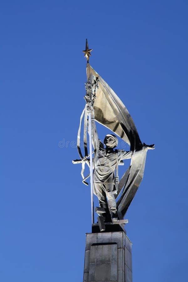 Мемориал Slavin в Братиславе - крупном плане стоковое изображение rf