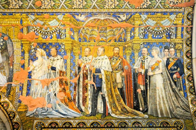 мемориал wilhelm kaiser церков стоковые изображения