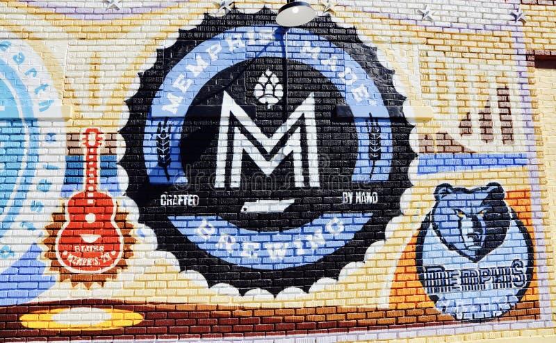 Мемфис сделал заваривая компанию стоковое фото rf