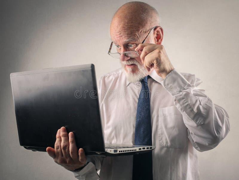 Менеджер стоковое изображение rf