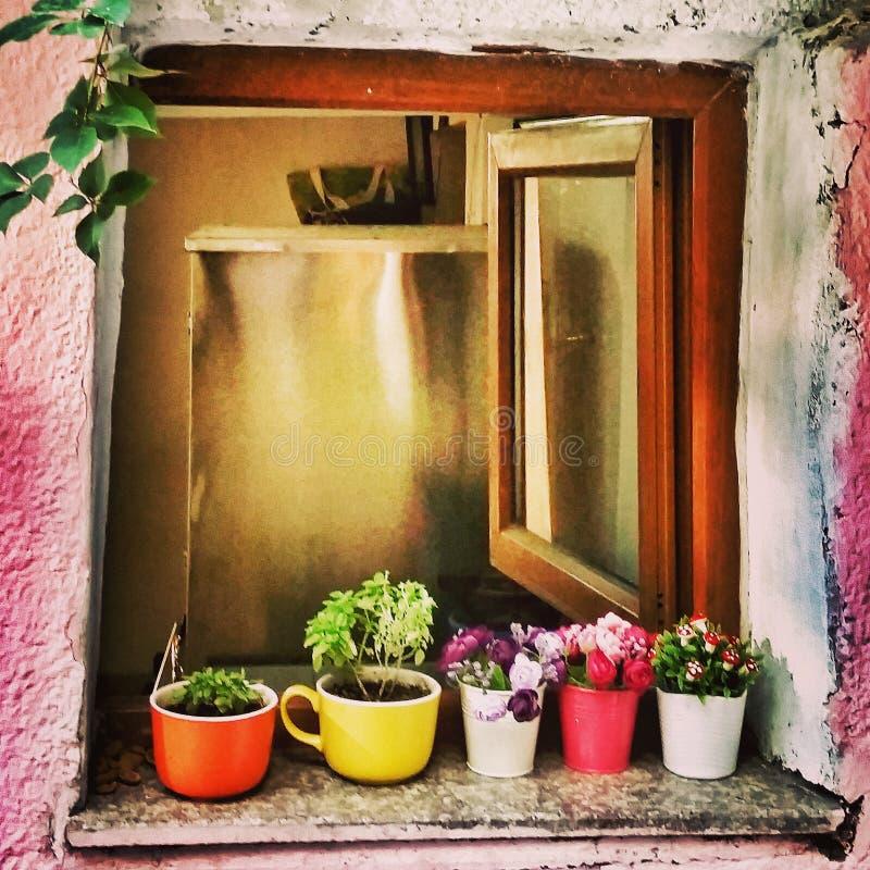 Меньшее окно стоковая фотография rf