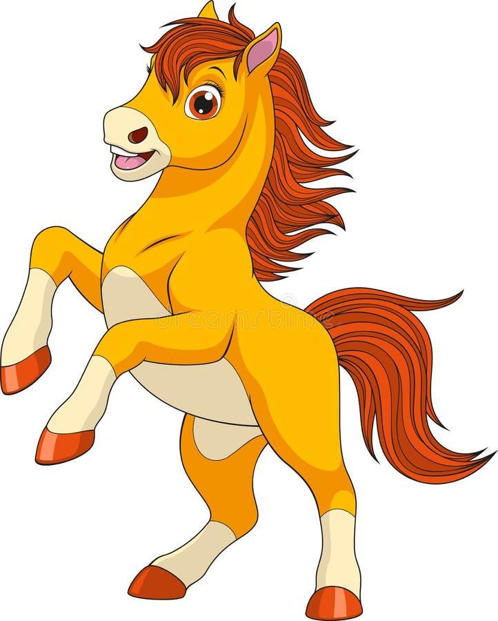 Меньшее смешное foaln бесплатная иллюстрация