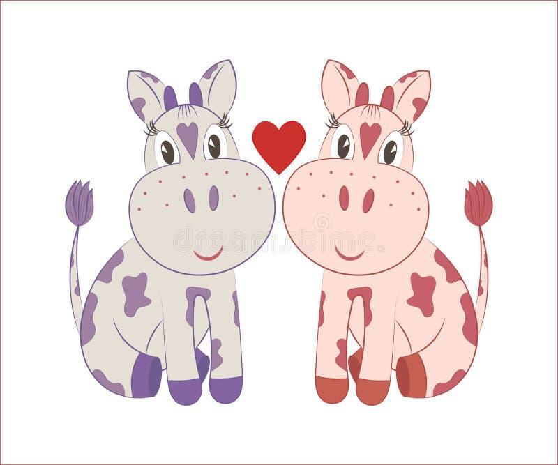 Меньшие коровы бесплатная иллюстрация