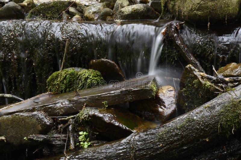 меньший водопад стоковая фотография