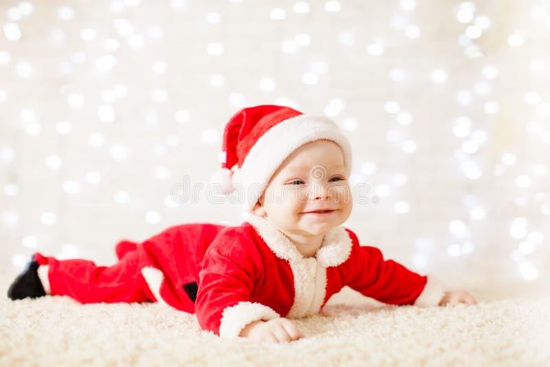 Меньший младенец Санты стоковые фотографии rf