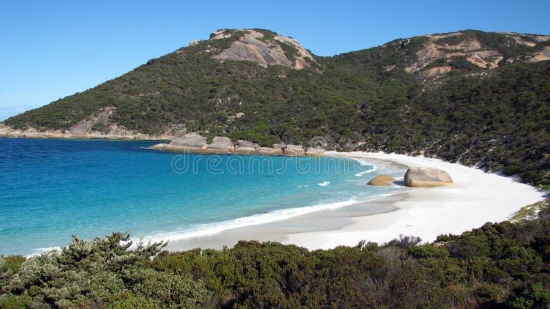 Меньший пляж, западная Австралия стоковые изображения