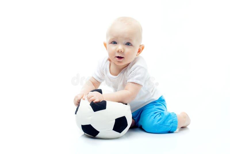 меньший футбол стоковые изображения rf