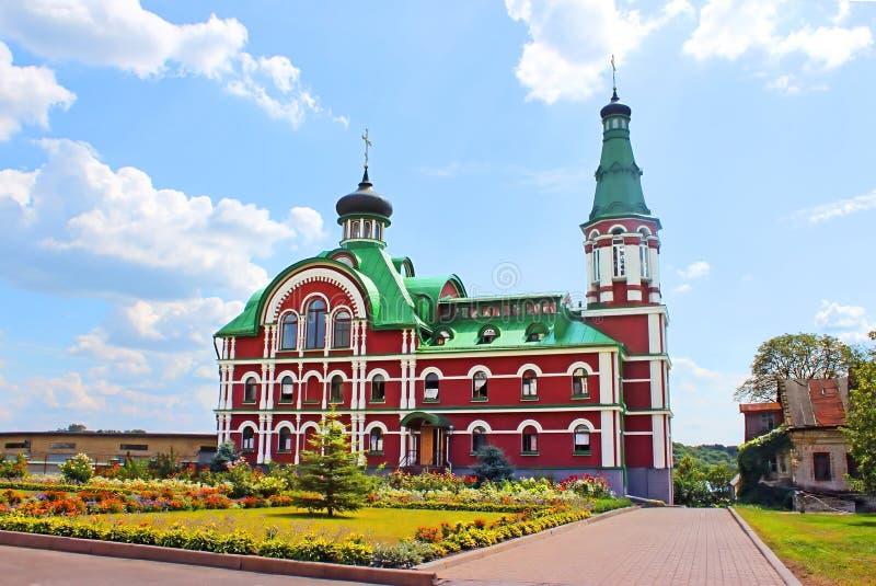 Меньшяя молельня в монастыре Panteleymonovskiy стоковая фотография