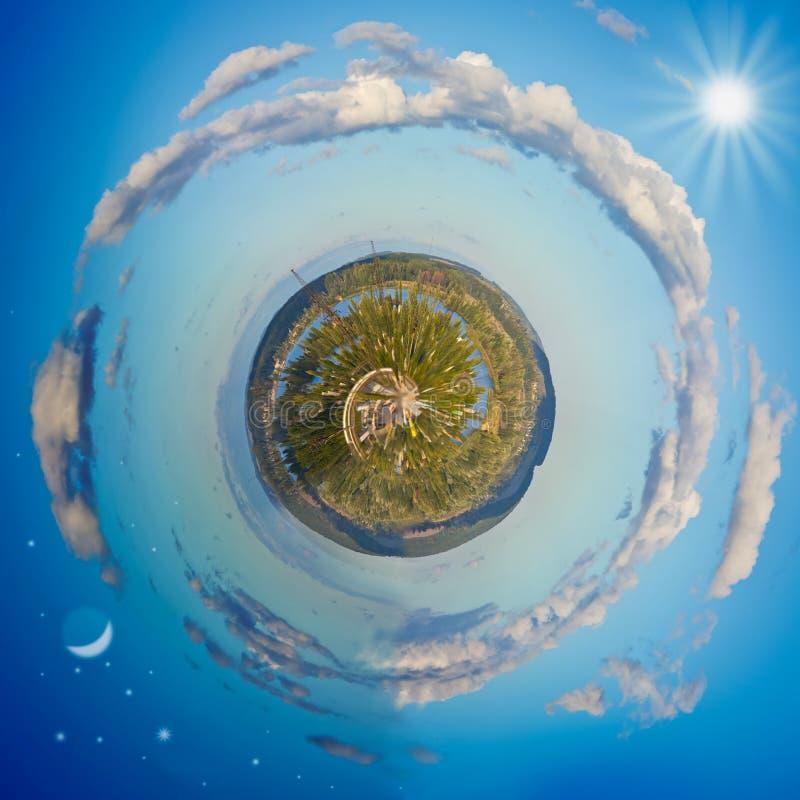 меньшяя планета стоковое изображение rf