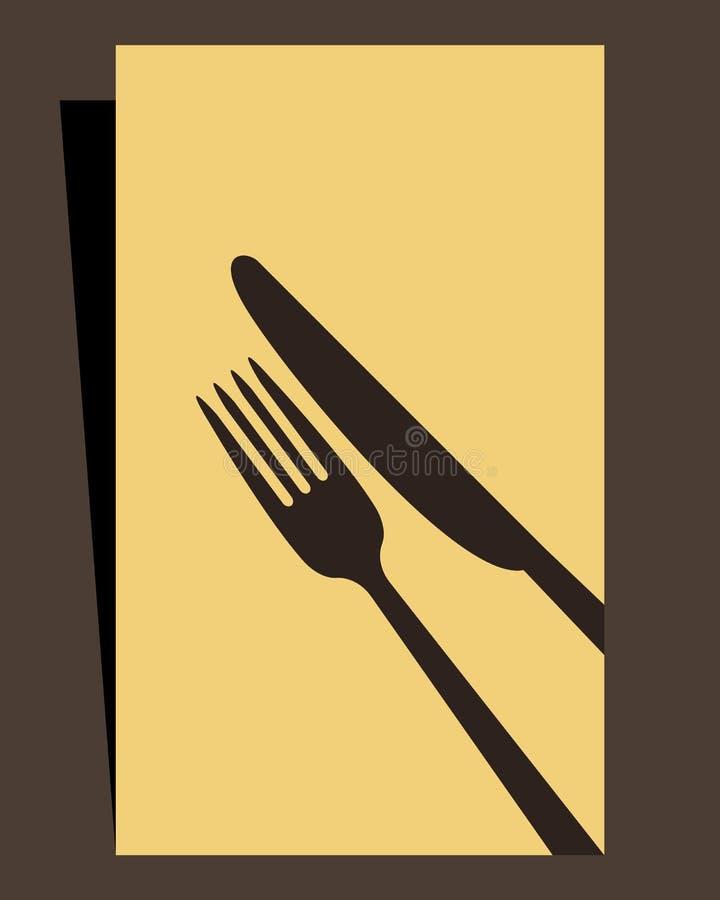 Меню ресторана бесплатная иллюстрация