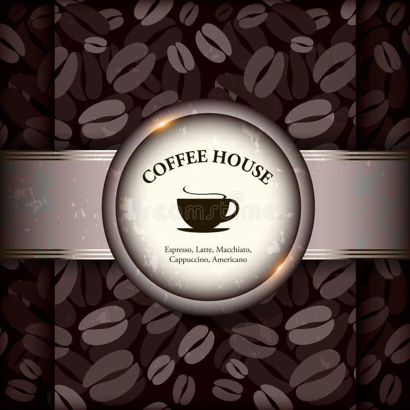 Меню для ресторана, кафа, штанги, дома кофе бесплатная иллюстрация