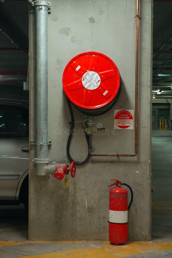 мера предосторожности пожара стоковое изображение rf