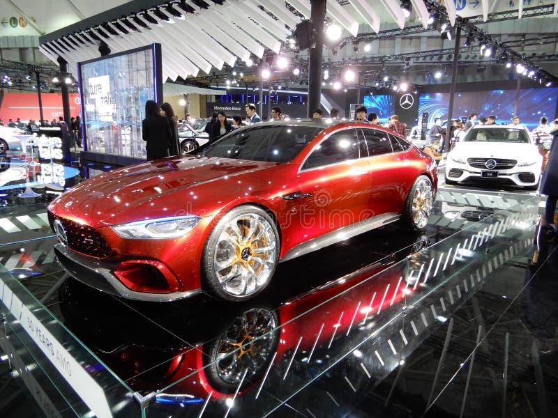 Мерседес-AMG, концепция GT стоковая фотография rf